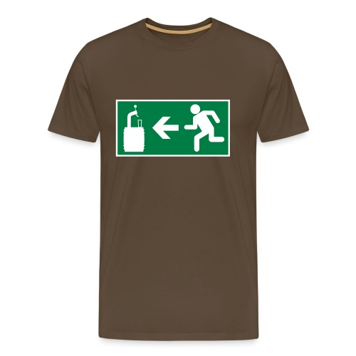 salida de emergencias - Camiseta premium hombre