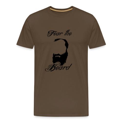 FEAR THE BEARD - Männer Premium T-Shirt