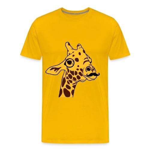 T-Shirt Hipster Giraffe - T-shirt Premium Homme