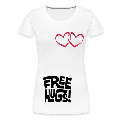Vrouwen over sizest shirt - Vrouwen Premium T-shirt
