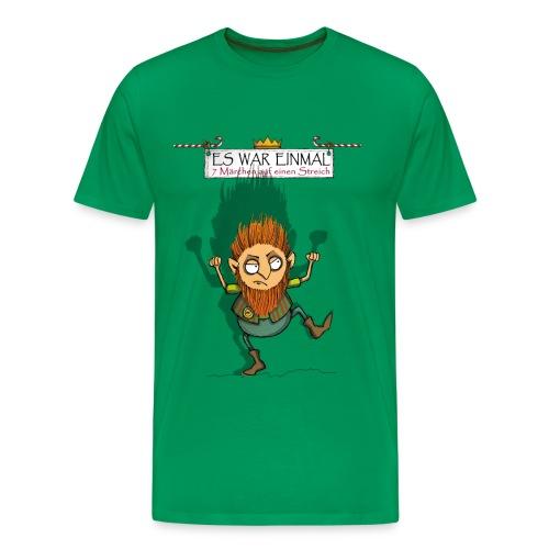 ES WAR EINMAL ... – Rumpelstilzchen  - Männer Premium T-Shirt