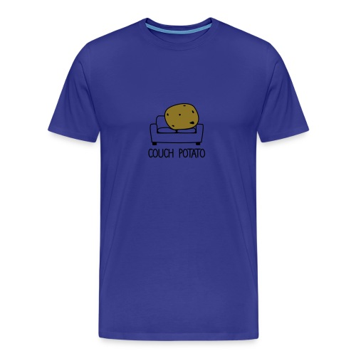 Couch Potato - Men's Premium T-Shirt