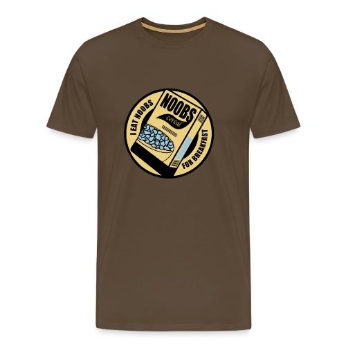 n00b Breakfast - Men's Premium T-Shirt