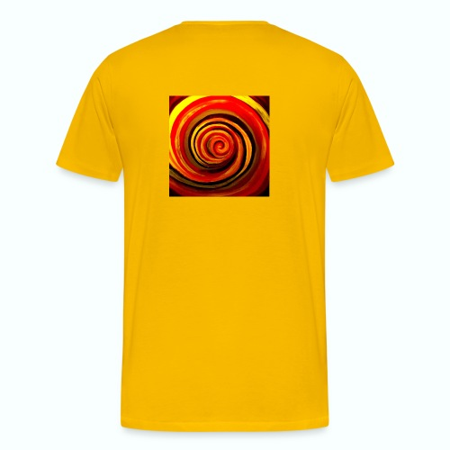 Energiewirbel - Männer Premium T-Shirt