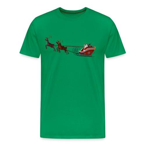 Santa Claus is coming - Männer Premium T-Shirt