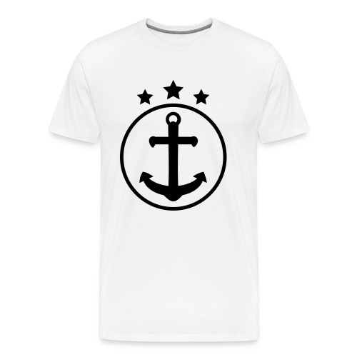 Anchor t-shirt - Mannen Premium T-shirt