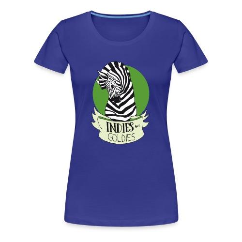 Indies But Goldies - Zebra - Frauen Premium T-Shirt