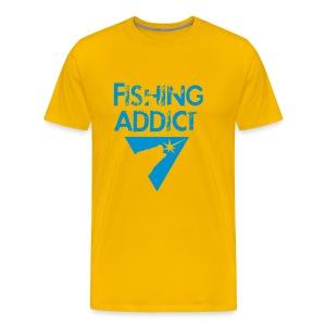 Fishing-shirt all-in-1 original bleu - T-shirt Premium Homme