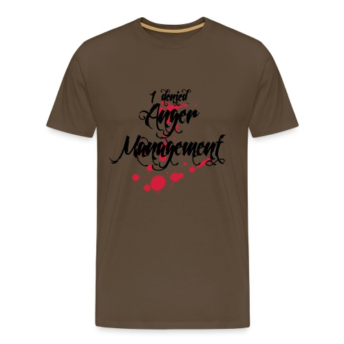 Anger Management denied - Männer Premium T-Shirt