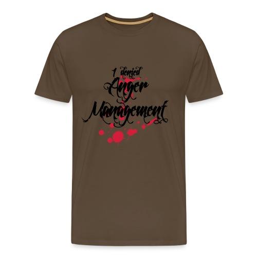 Anger Management denied - Männer Premium T-Shirt