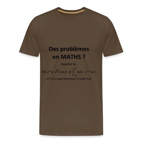 Tee-Shirt Mathématique - Homme - T-shirt Premium Homme
