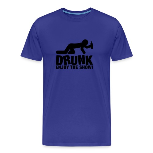 Drunk... Game over - Men's Premium T-Shirt