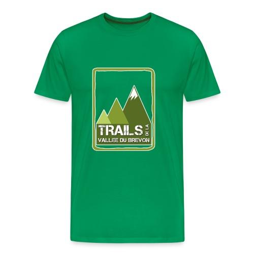 Tshirt vert homme - T-shirt Premium Homme