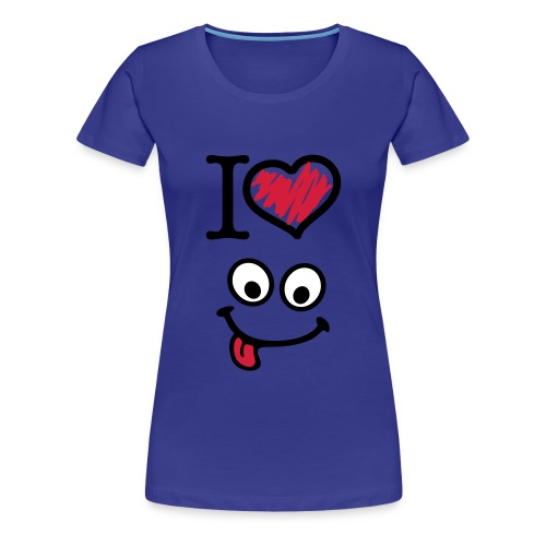 I love smiles - Women's Premium T-Shirt