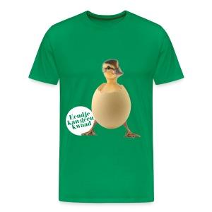 Eendje kan geen kwaad - Mannen Premium T-shirt