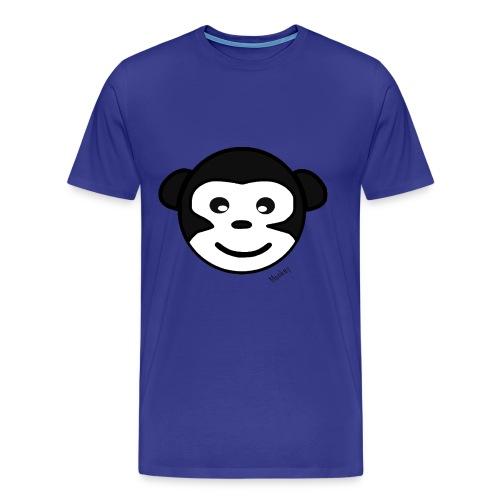 Monkey2 - Maglietta Premium da uomo