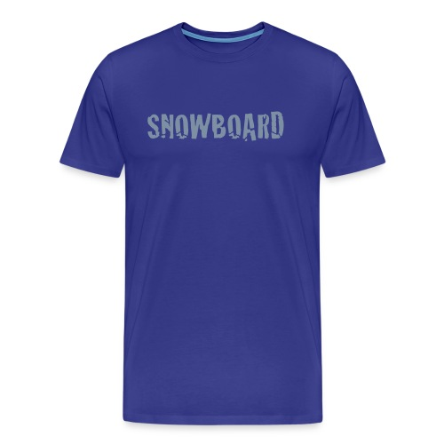 Snowboarding t-shirt - Men's Premium T-Shirt