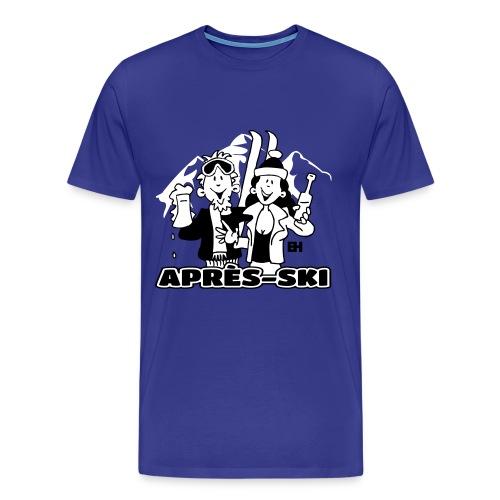 Après-ski - Men's Premium T-Shirt