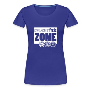 Halloweenfreie Zone - Frauen Premium T-Shirt