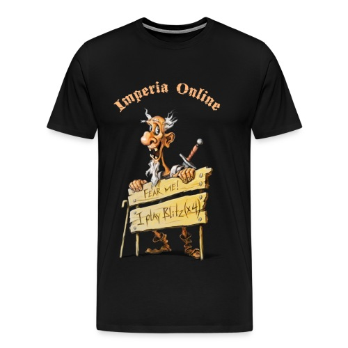 Blitz! Black T-Shirt - Men's Premium T-Shirt