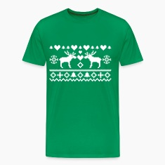 Christmas Embroidery T-Shirts