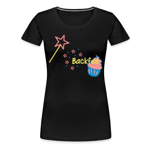 Cupcaki Backfee - Frauen Premium T-Shirt