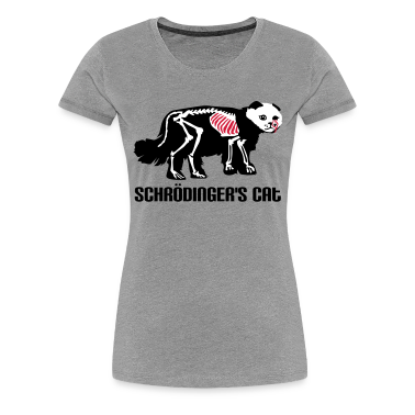 Schrödinger's cat T-Shirts