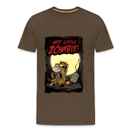 T-Shirts ~ Männer Premium T-Shirt ~ My little Zombie - Männershirt