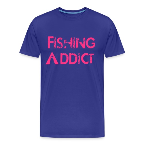 Fishing-shirt  original pinki - T-shirt Premium Homme