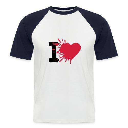 T-shirt I Love You - T-shirt baseball manches courtes Homme