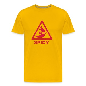Spicy Pittig shirt - Mannen Premium T-shirt