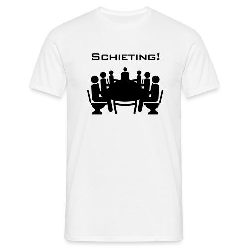 Schieting (Scheiß-Meeting) - Männer T-Shirt