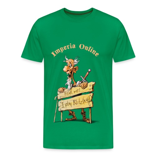 Blitz Green T-Shirt - Men's Premium T-Shirt