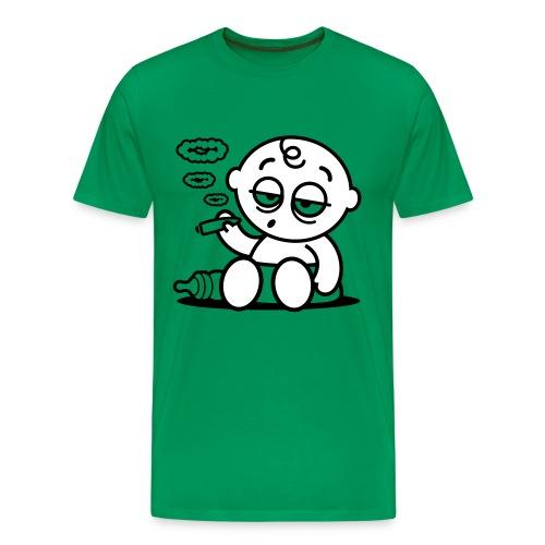 Camiseta Marihuana - Camiseta premium hombre