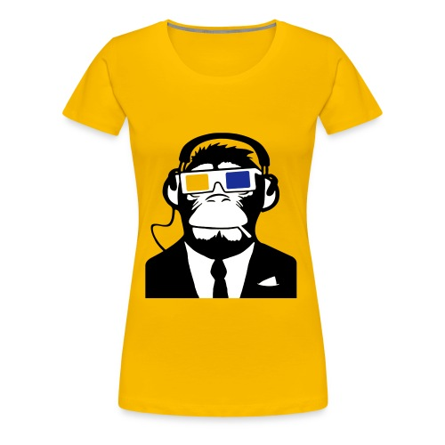 scimmia - Maglietta Premium da donna