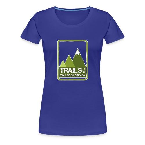 Tshirt femme bleu - T-shirt Premium Femme