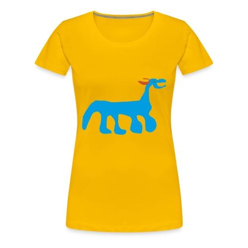 POODLE T-shirt - No text (Women's) - Women's Premium T-Shirt