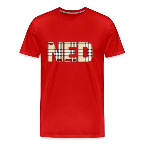 The Ned Who Loved Me - Men's Premium T-Shirt
