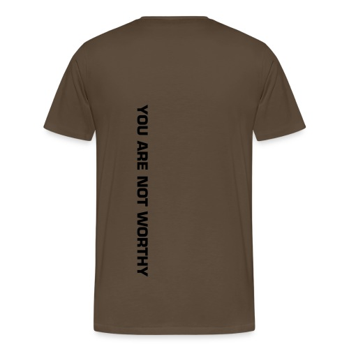 YOU ARE NOT FIT - Men's Premium T-Shirt