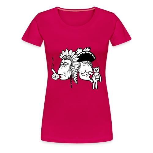 Häuptling und Baron OHNE TYPO - Frauen Premium T-Shirt