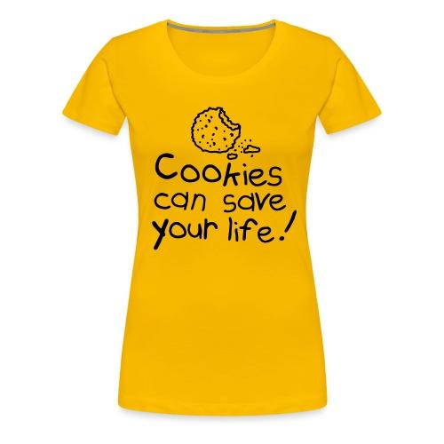 Cookie  - T-shirt Premium Femme