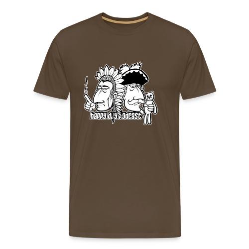 Häuptling und Baron - Männer Premium T-Shirt