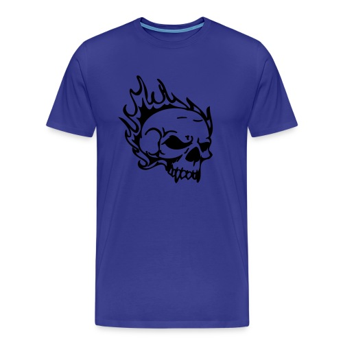 Flame Head - Men's Premium T-Shirt