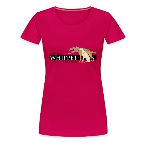 Damtopp, tryck fram - Premium-T-shirt dam
