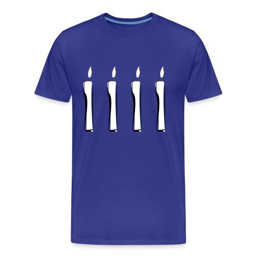 Four Candles - Men's Premium T-Shirt