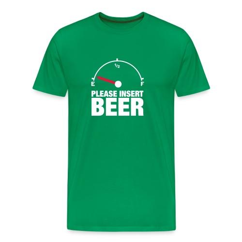 Insert Beer - Men's Premium T-Shirt