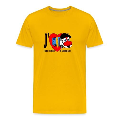 T-shirt J'aime la France en Camping-Car pour Monsieur! - T-shirt Premium Homme