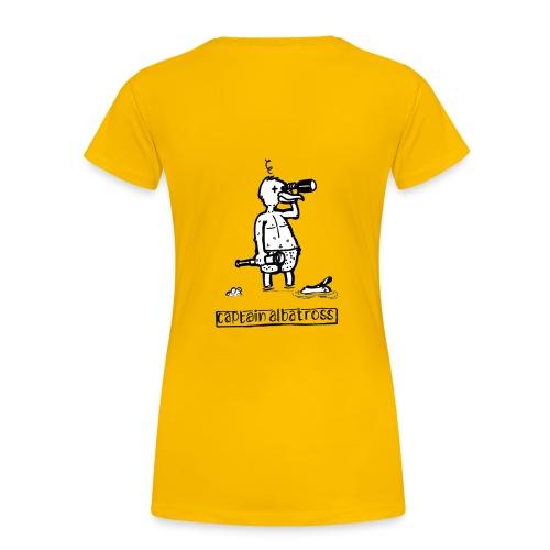 Captain Albatross Girlie - Vrouwen Premium T-shirt