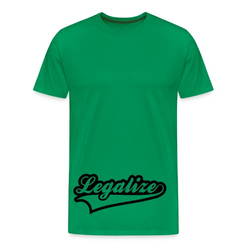 Legalise Black T - Men's Premium T-Shirt