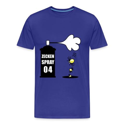 Zeckenspray 04 - Männer Premium T-Shirt